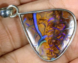 31 CTS KOROIT SILVER PENDANT OF-1827