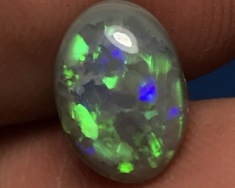 2.54ct Lightning Ridge Gem Dark Opal LR129