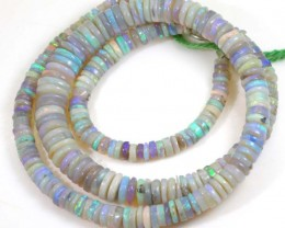 87.7 CTS CRYSTAL OPAL BEADS STRAND TBO-6139