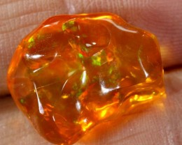 10.9 CT  Orange Polished Mexican Fire Opal INV-564 GC