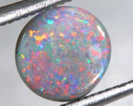 N-4  1.1CTS BLACK SOLID OPAL STONE  TBO-6190