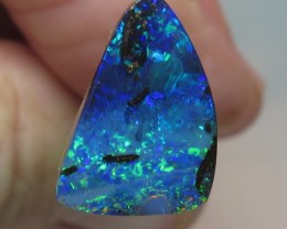 3.87Ct Queensland Boulder Opal Loose Stone