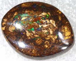 18.45CTS BOULDER WOOD FOSSIL OPAL STONES   NC-4754