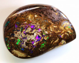 11.60CTS BOULDER WOOD FOSSIL OPAL STONE  NC-4759