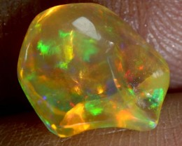 2 CT Polished Mexican Fire Opal TBO-6241