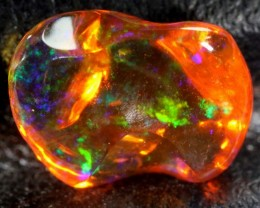 2.2 CT Polished Mexican Fire Opal TBO-6242