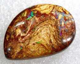 17.4 CTS BOULDER WOOD FOSSIL OPAL STONES   NC-4810