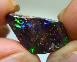4.55 ct Boulder Opal With Gem Multi Color
