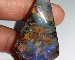 57.15CT VIEW QUEENLAND BOULDER OPAL   SS05