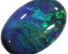 0.95 CTS BLACK OPAL STONE -WELL POLISHED [BO138]