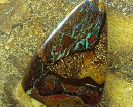 "19cts.""BOULDER MATRIX OPAL~FROM OUR MINES"""