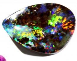 33.06 CTS QUALITY  BOULDER OPAL POLISHED STONE INV-572  GC