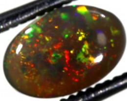 1.0CTS   N-4   SOLID BLACK OPAL   TBO-6294