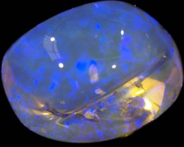 7.15 CTS CRYSTAL OPAL SCULPTURE FROM LIGHTNING RIDGE [SC68]