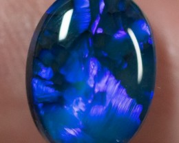 BLACK OPAL LIGHTNING RIDGE NATURAL SOLID 3.05ct GEM BOG270317