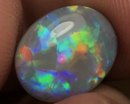 5.18ct Lightning Ridge Gem Semi Black Opal LR211