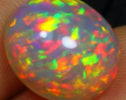 6.40cts TOP NOTCH FIRE FLORAL Natural Untreated Ethiopian Welo Opal