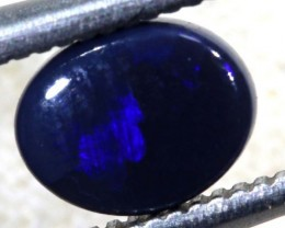 N1 -  0.70CTS BLACK SOLID OPAL STONE  TBO-6352