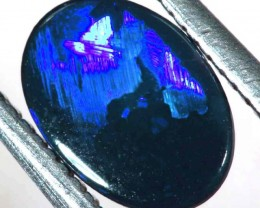N1  -  0.40CTS BLACK SOLID OPAL STONE  TBO-6353