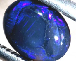 N1  -  0.60CTS BLACK SOLID OPAL STONE  TBO-6358