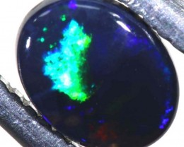 N1  -  0.30CTS BLACK SOLID OPAL STONE  TBO-6362