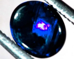 N1  -  0.60CTS BLACK SOLID OPAL STONE  TBO-6364
