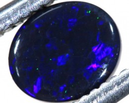 N1  -  0.50CTS BLACK SOLID OPAL STONE  TBO-6379