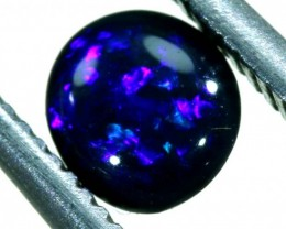 N1  -  0.30CTS BLACK SOLID OPAL STONE  TBO-6389