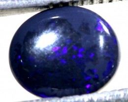N1  -  0.90CTS BLACK SOLID OPAL STONE  TBO-6393