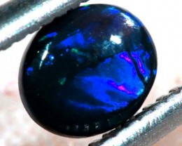N1  -  0.30CTS BLACK SOLID OPAL STONE  TBO-6390