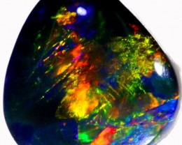 1.25 CTS BLACK OPAL STONE -WELL POLISHED [BO165]