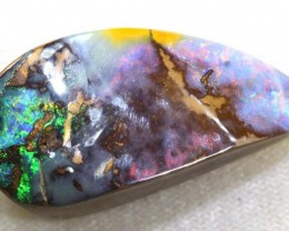43.50CTS QUALITY  BOULDER OPAL POLISHED STONE INV-657