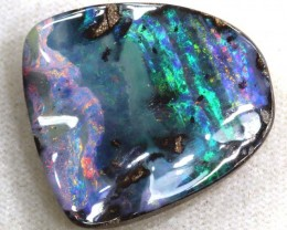 19.35CTS QUALITY  BOULDER OPAL POLISHED STONE INV-658