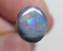 1.21Ct Lightning Ridge Black Opal stone