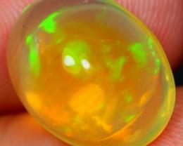 4.00Ct Natural Reddish Green Ethiopian Welo Polished Opal
