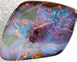 17.90CTS QUALITY  BOULDER OPAL POLISHED STONE INV-688 GC