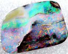 12.40 CTS QUALITY  BOULDER OPAL POLISHED STONE INV-691 GC