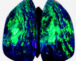 7.06 CTS DOUBLET OPAL PAIR  [SO9160] SAFE