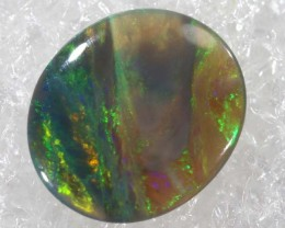 N4  -  0.50CTS BLACK SOLID OPAL STONE  TBO-6461