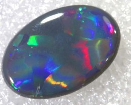 N5  -  3.4CTS BLACK SOLID OPAL STONE  TBO-6467