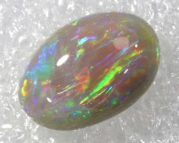 N4  -  2.60CTS BLACK SOLID OPAL STONE  TBO-6475