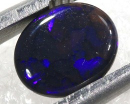 0.70CTS   N1-   SOLID BLACK OPAL   TBO-6524