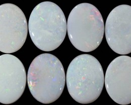 5.01 CTS WHITE FIRE OPAL STONE CALIBRATED [CP2150]