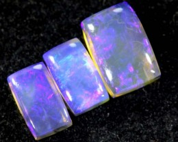 1.90CTS CRYSTAL OPAL PARCEL POLISHED 3PC TBO-6540