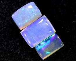 1.20CTS CRYSTAL OPAL PARCEL POLISHED 3PC TBO-6553