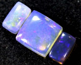 2.15CTS CRYSTAL OPAL PARCEL POLISHED 3PC TBO-6554