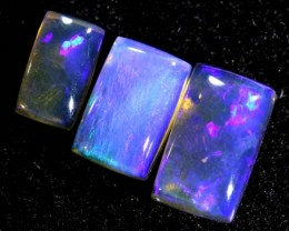 1.95CTS CRYSTAL OPAL PARCEL POLISHED 3PC TBO-6555