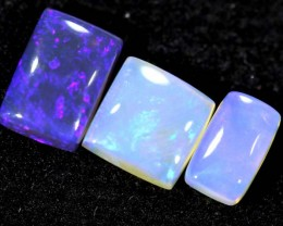 1.35CTS CRYSTAL OPAL PARCEL POLISHED 3PC TBO-6562