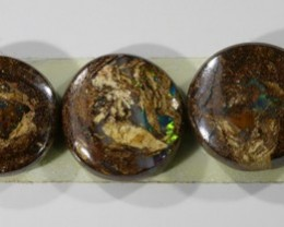 28 CTS  5 ROUND  BOULDER OPAL CF 815