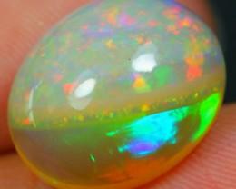 4.98Ct Natural Beautiful Bi Pattern Ethiopian Welo Polished Opal